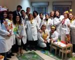 Giocattoli e svaghi per i bambini del reparto di Chirurgia Pediatrica del Garibaldi-Nesima