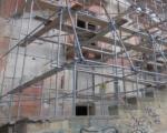 Palermo, ignoti portano via il ponteggio per i lavori al Palazzo Fiumetorto Giallongo